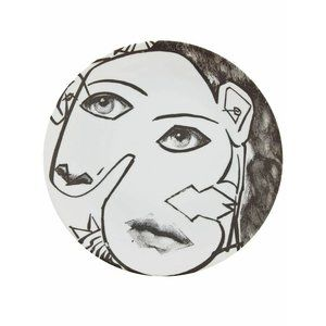 Fornasetti LINA Picasso Face Wall Plate